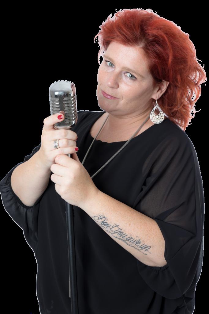Rebecca Schouw Microfoon