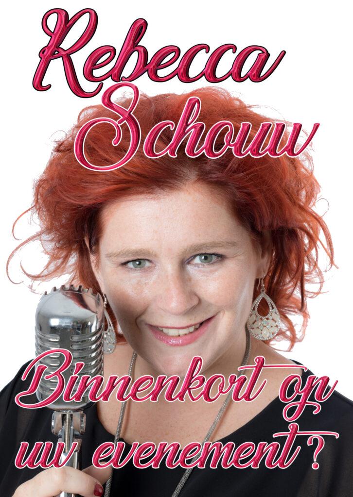 Rebecca Schouw Flyer